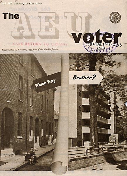 AEU Voter, General Election, 1949