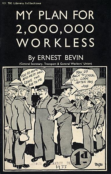 Transport and General Workers Union pamphlet on unemployment, 1933