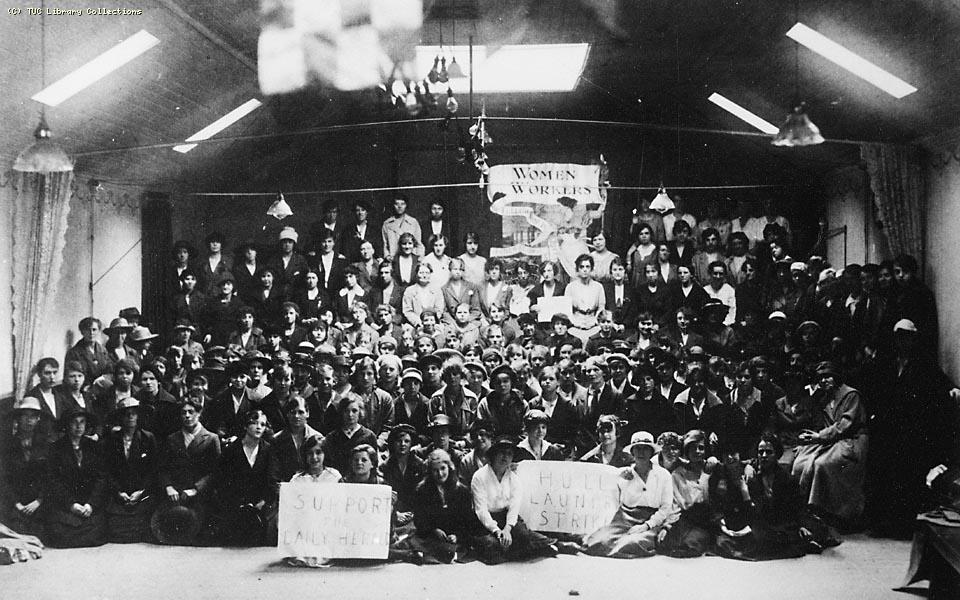 Hull Laundry Strike, c. 1920