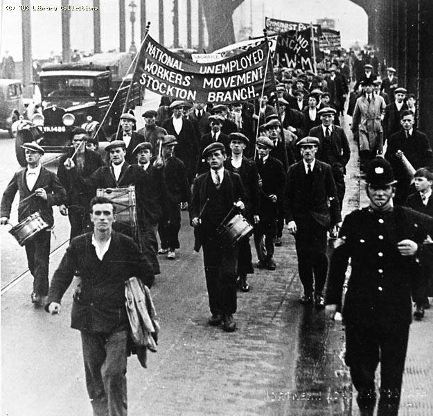 National Unemployed Workers Movement March 1933
