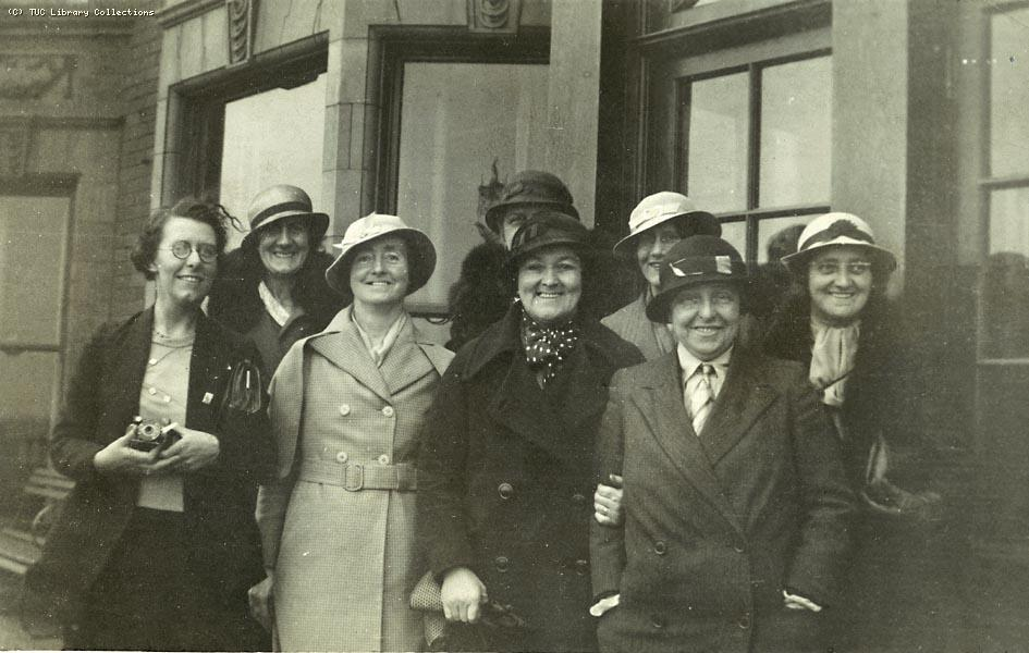 TUC weekend school for women, Whitley Bay, 1935