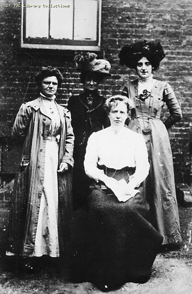National Federation of Women Workers organisers, c. 1908