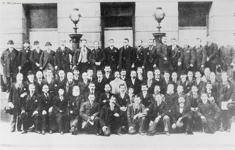 Delegates at Scottish TUC, 1897