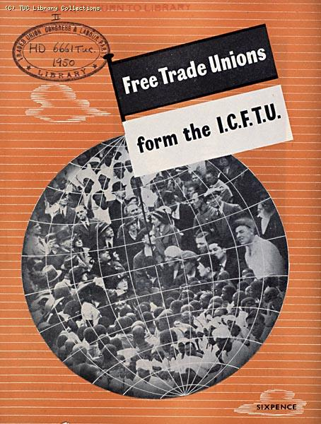 International Confederation of Free Trade Unions, 1950