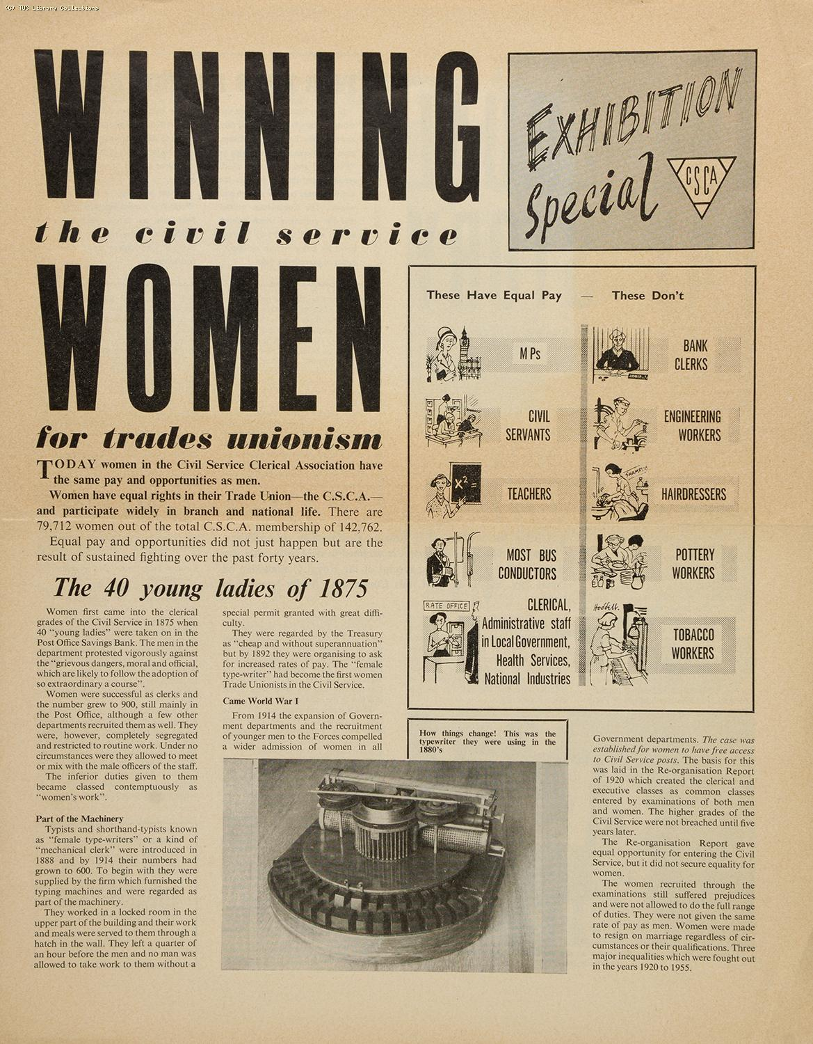 'With Women's Hands' Exhibition 1962