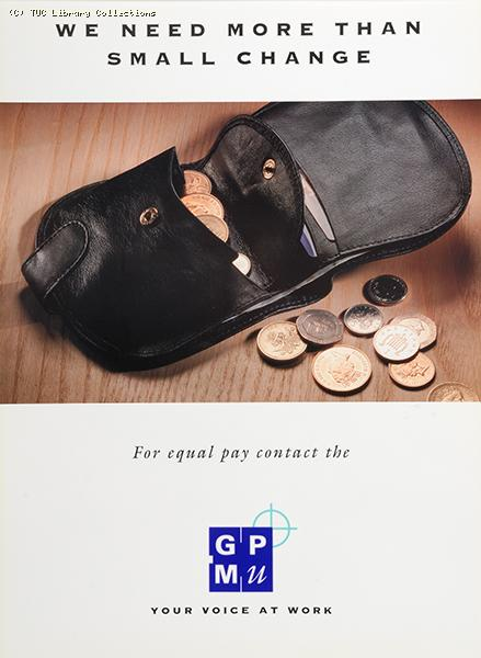 We need more than small change - poster, c 1998