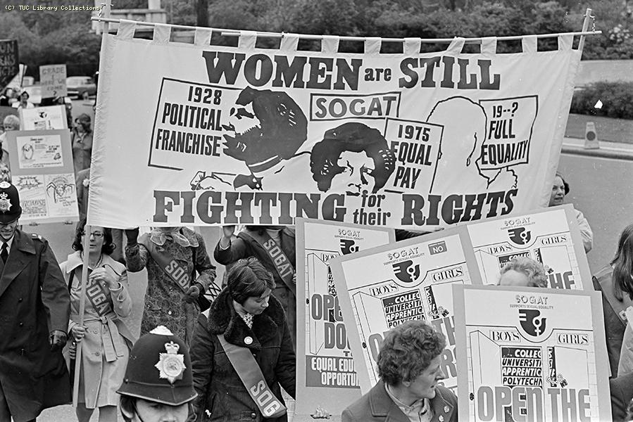 International Women's Year Rally, London, 1975