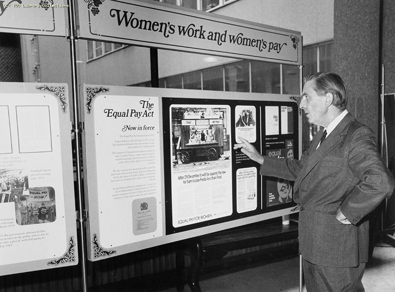 'Women's Work and Women's Pay' exhibition, 1976