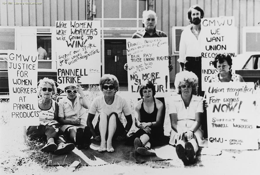 Pannell Products strike, c. 1970