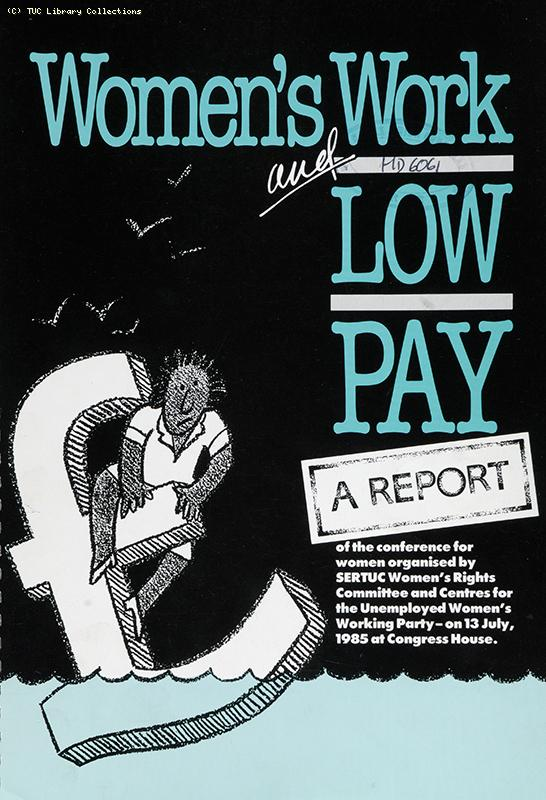 'Women's work and low pay', 1985