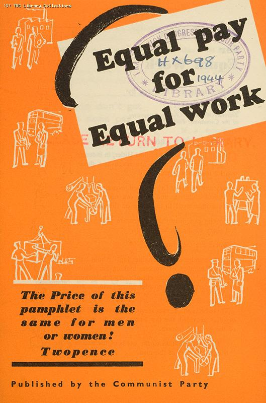 'Equal pay for equal work', 1944