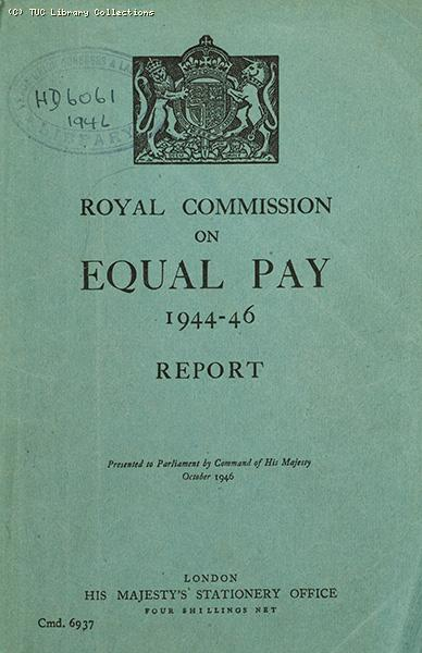 Royal Commission on Equal Pay 1944-46