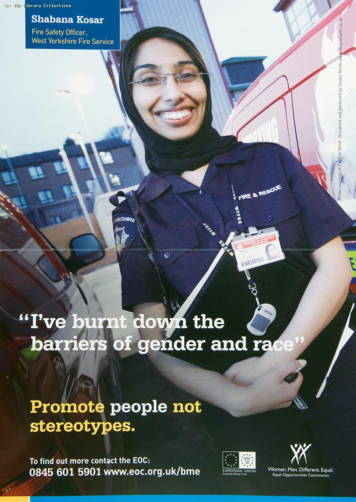 Promote people not stereotypes - EOC campaign, 2007