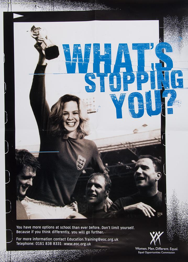 What's stopping you? - poster 2006