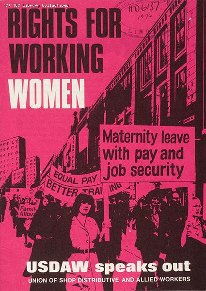 Rights for working women, 1975