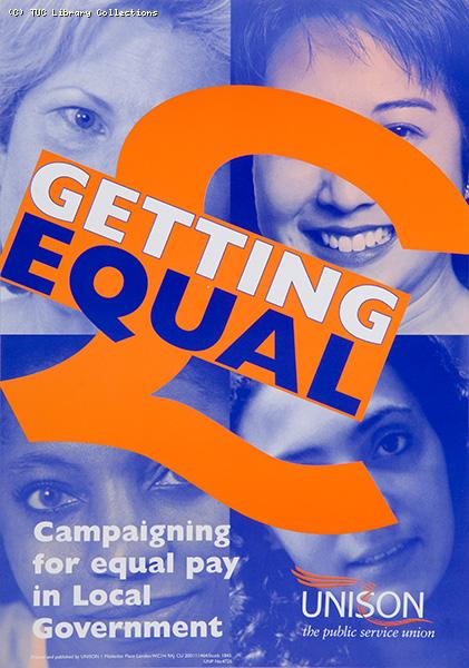 Getting equal - Unison poster 2001
