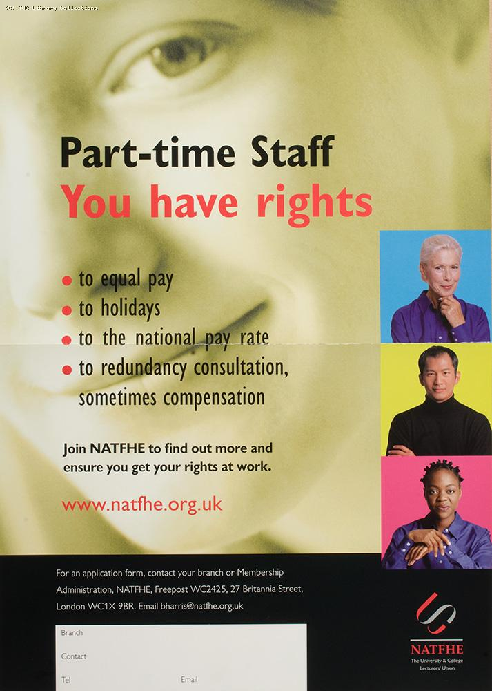 Part time staff - you have rights, c2001
