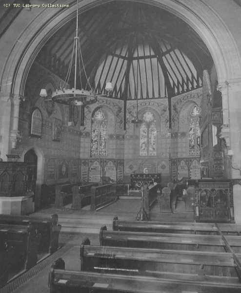 Chancel of St Andrews Church, Queens Road, Hastings