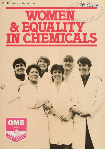 Women and equality in chemicals - GMBATU leaflet, 1984
