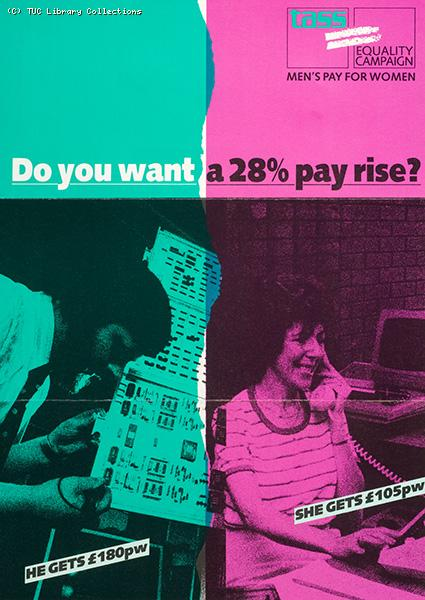 Do you want a 28% pay rise, 1986
