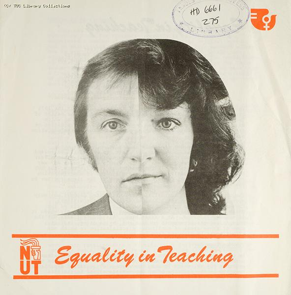 Equality in teaching - NUT leaflet, 1975