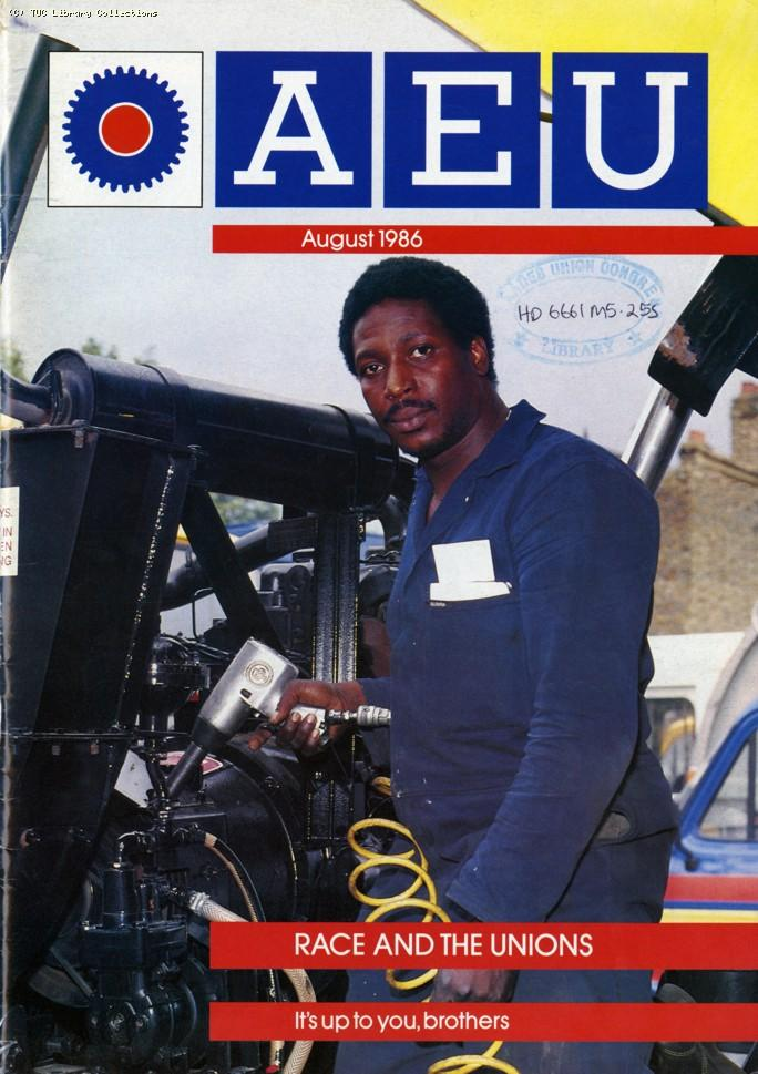 Race and the unions - AEU Journal, 1986