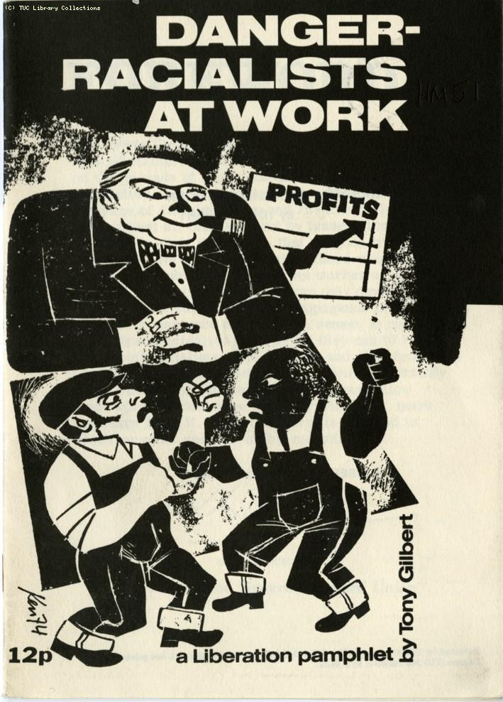 Danger, racialists at work - Liberation pamphlet, 1974