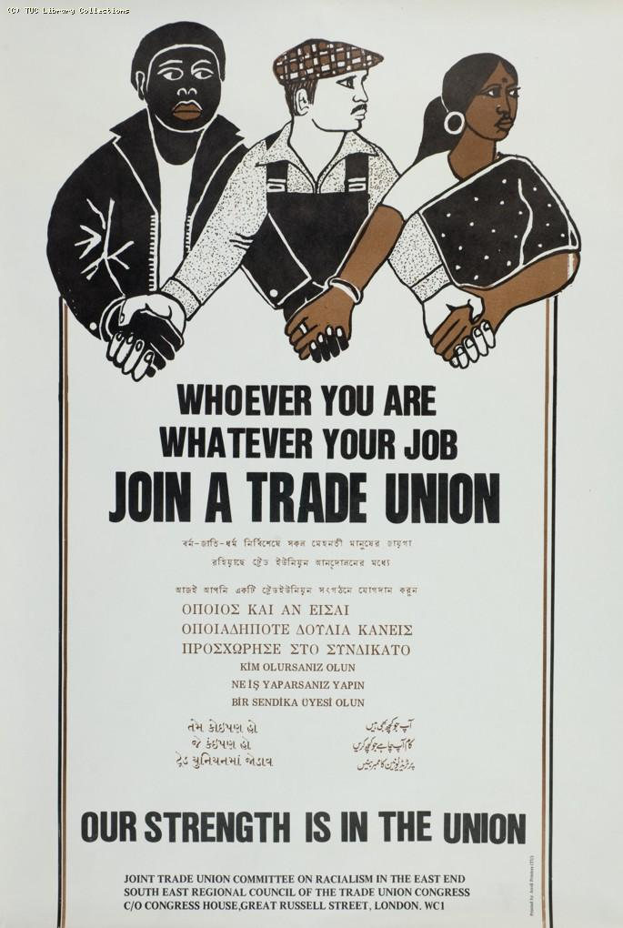 Whoever you are...poster, c. 1985