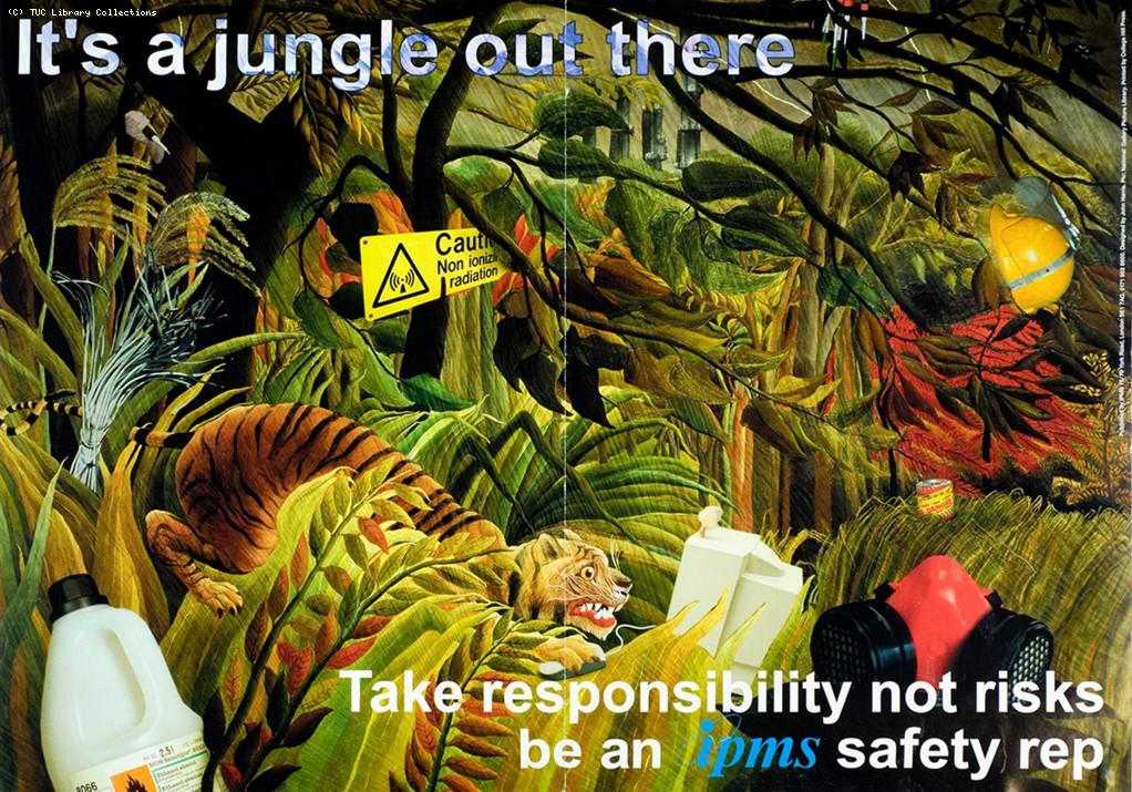 It's a jungle out there - IPMS poster, c. 1995