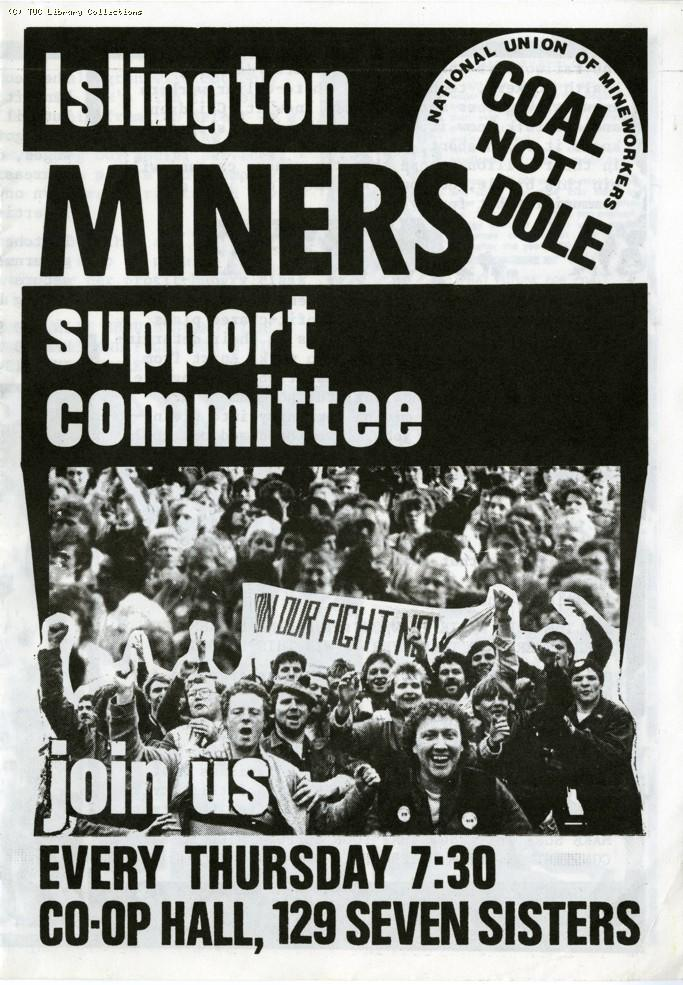 Islington Miners Support Committee, 1984