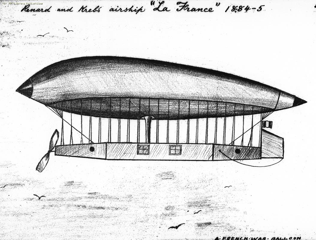 Renard and Kreb's airship