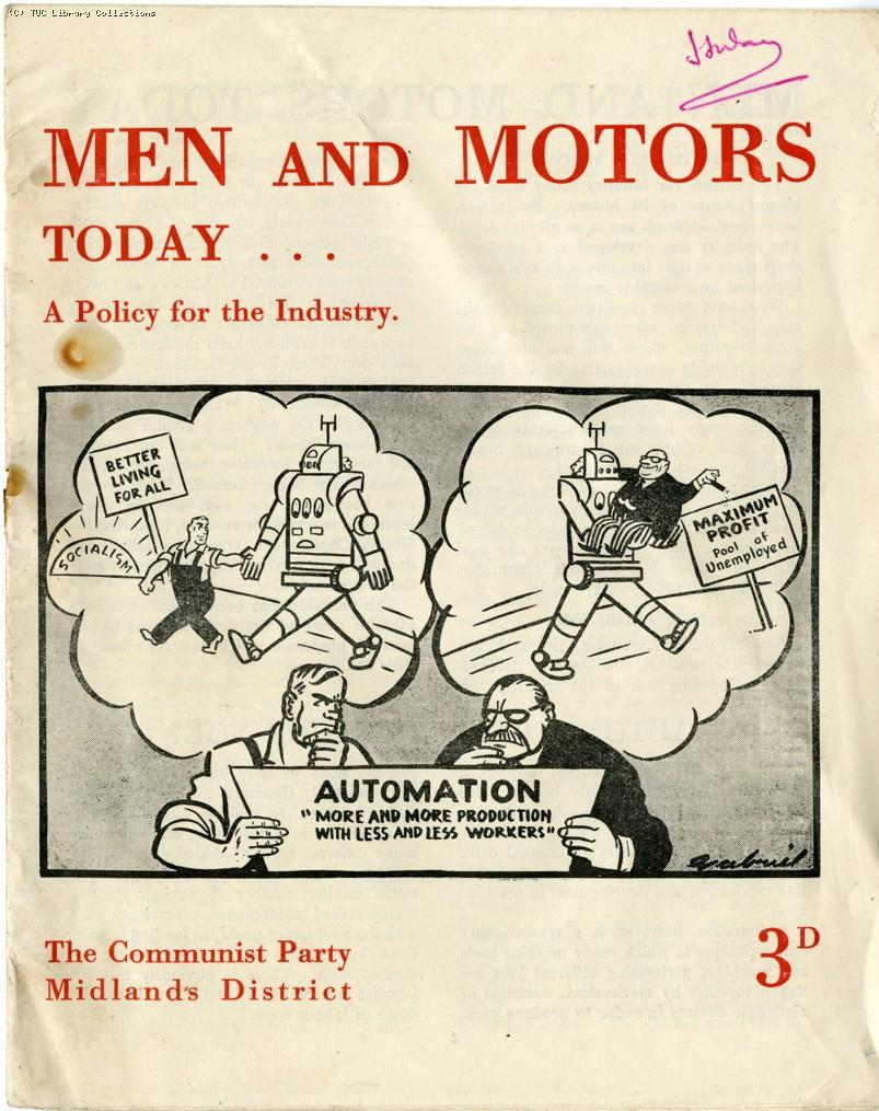 Men and Motors Today, 1956