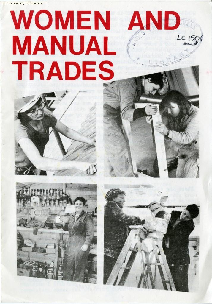 Women and manual trades, 1975