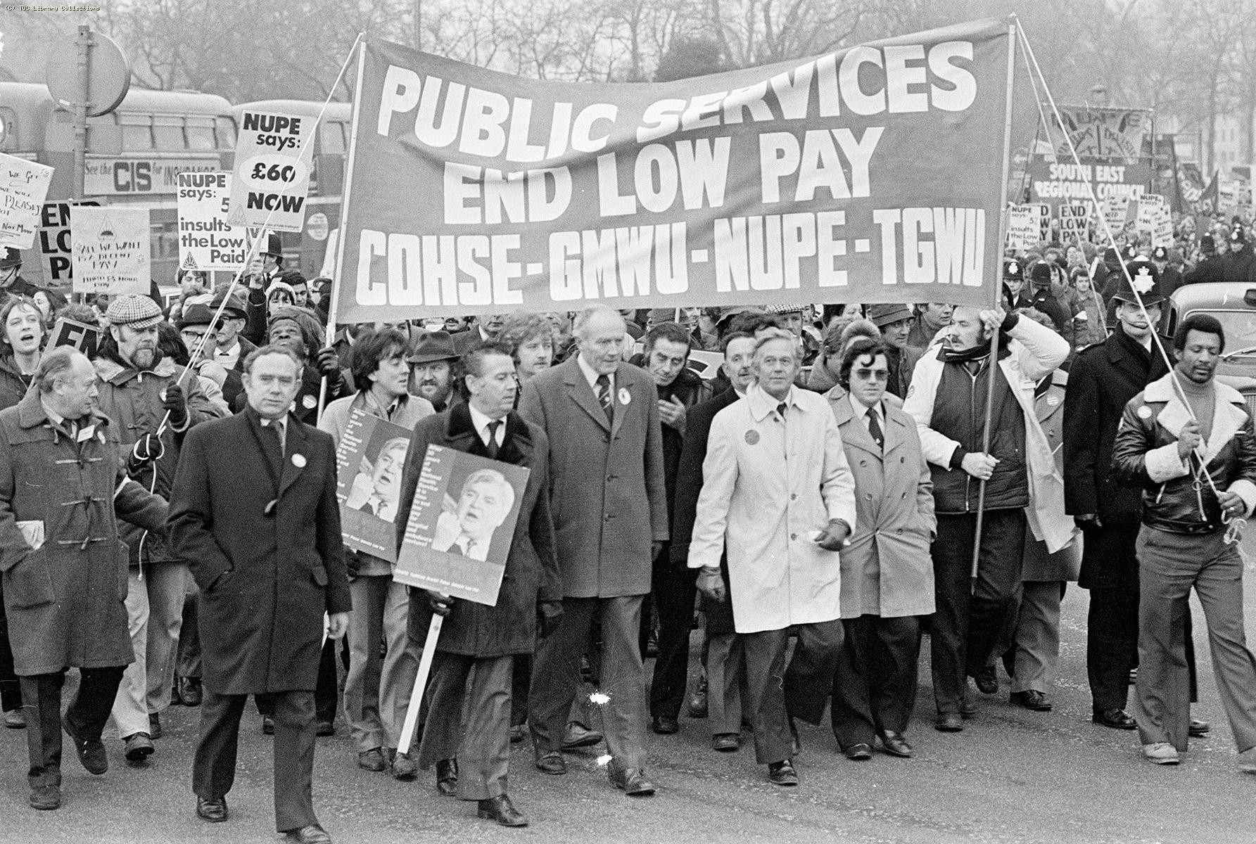 Public sector 'Day of Action', 1979