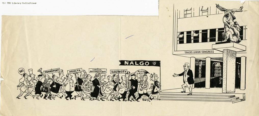 Nalgo joins the TUC, 1964