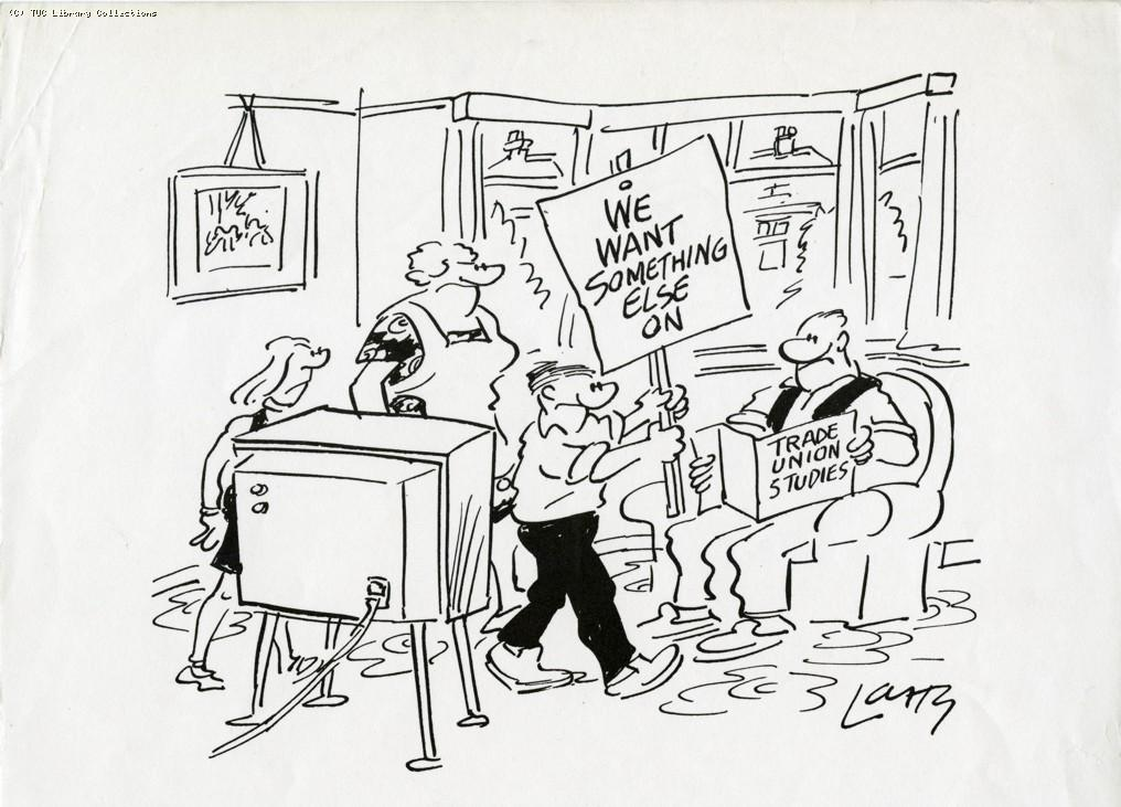 Trade Union Studies - cartoon, 1975