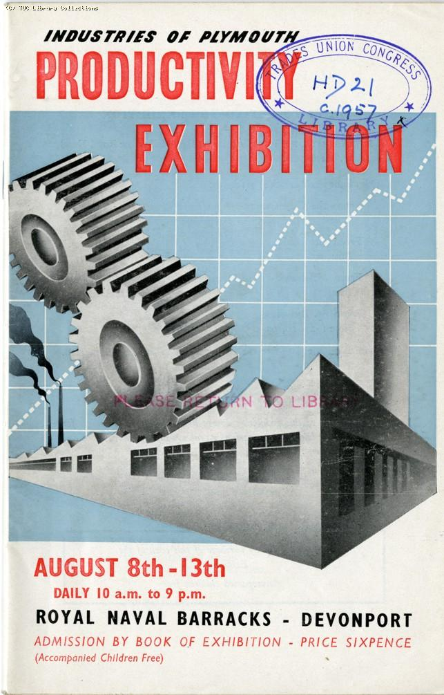 Productivity exhibition, Plymouth 1955