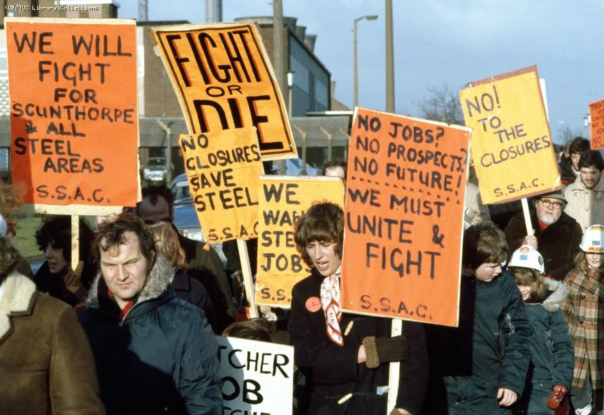Scunthorpe Steel Action Committee, 1980