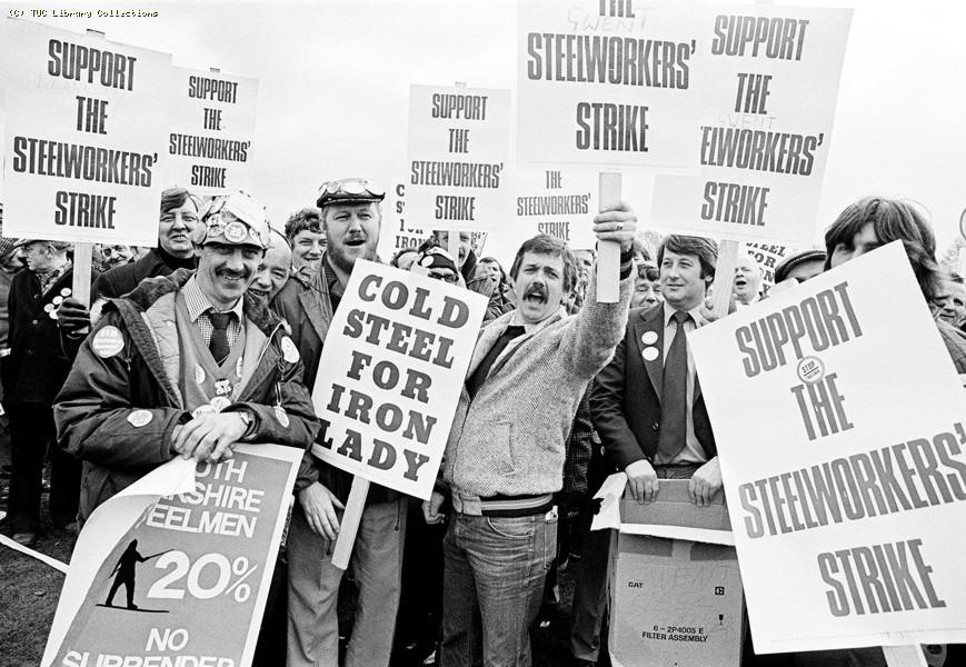National steel strike, 1980