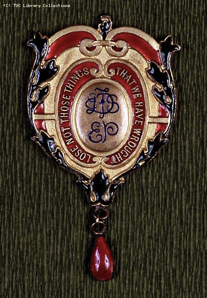 Women's Trade Union League badge, 1919