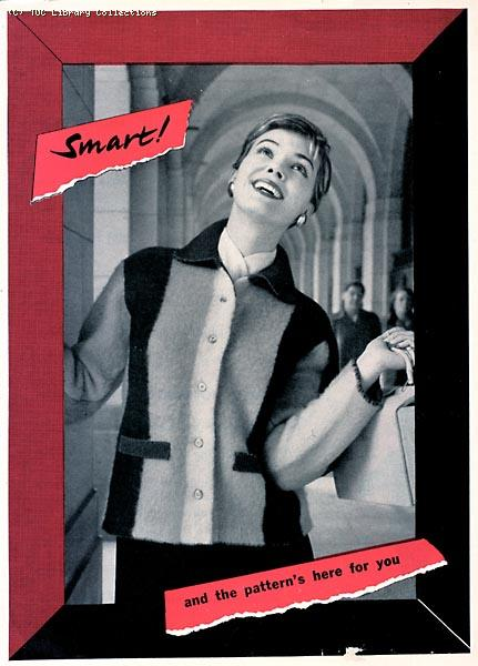 TUC recruitment leaflet for women, 1957 (front)