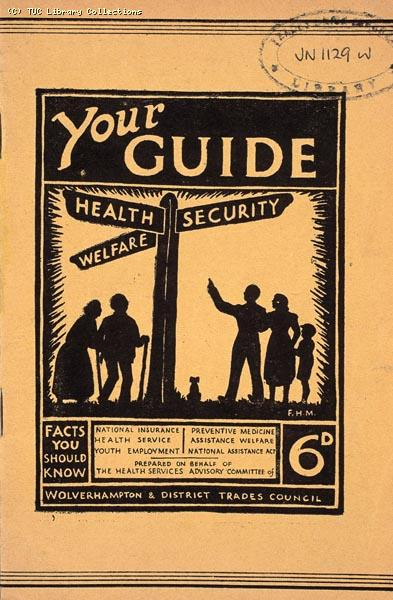 Pamphlet - Your Guide. Health, Security, Welfare