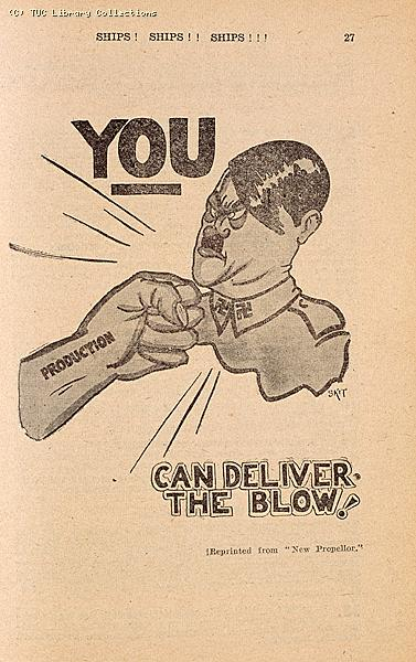 You can deliver the blow