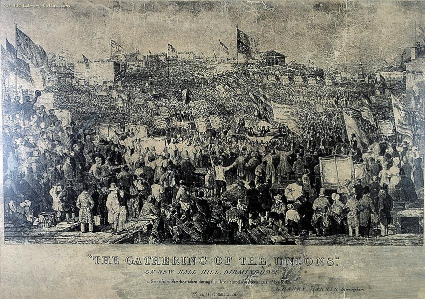 The Gathering of the Political Unions, May 1832