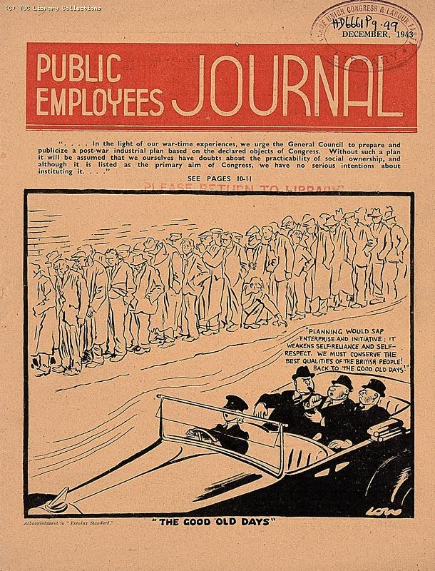 'Public Employees Journal', 1945