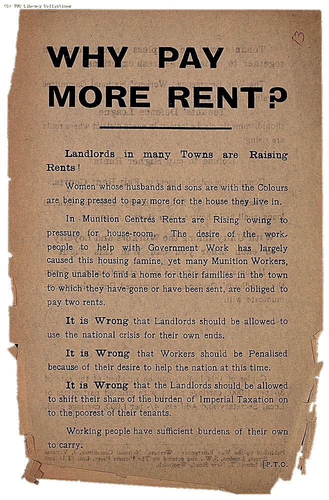 Why pay more rent? (front)
