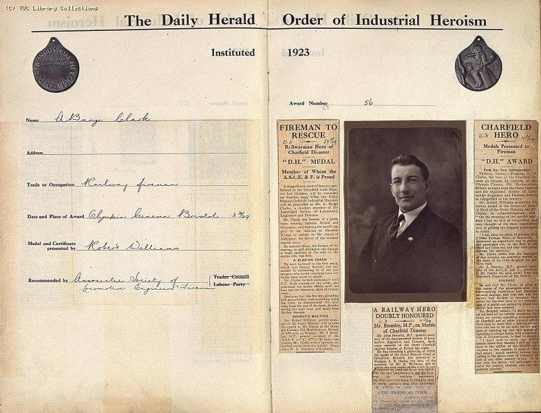 The 'Daily Herald' Order of Industrial Heroism