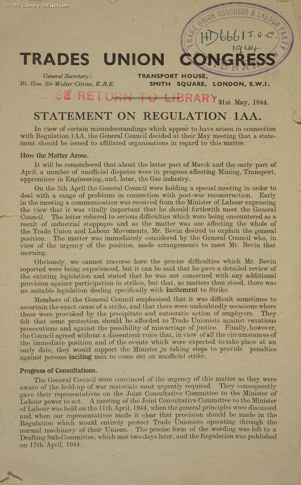 Regulation 1AA (pg. 1)