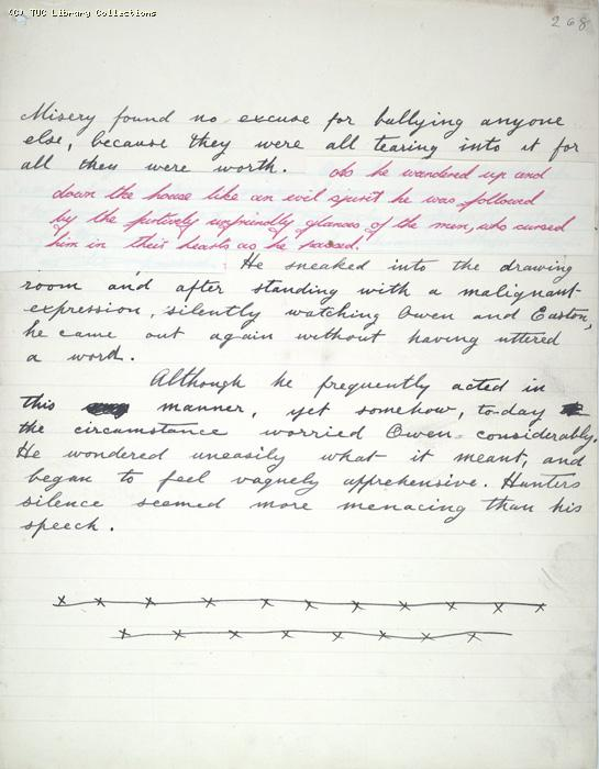 The Ragged Trousered Philanthropists - Manuscript, Page 268