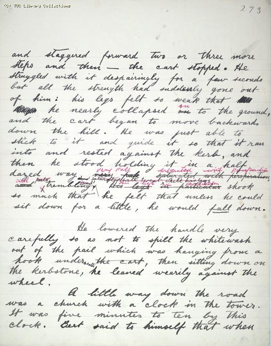 The Ragged Trousered Philanthropists - Manuscript, Page 273